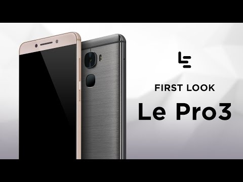 LeEco Le Pro3 ecophone | LeNext Phone is Here