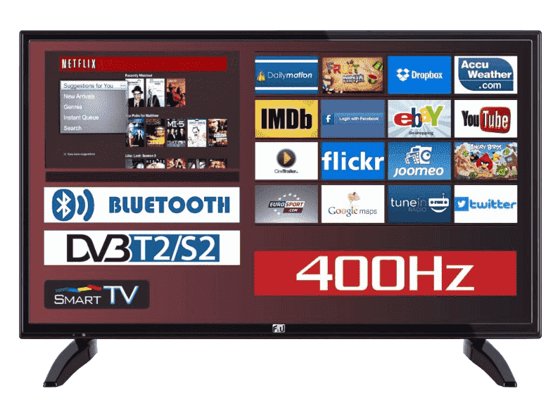 oikonomiki smart tv 32 - tileorasi - F&U-FLS32212