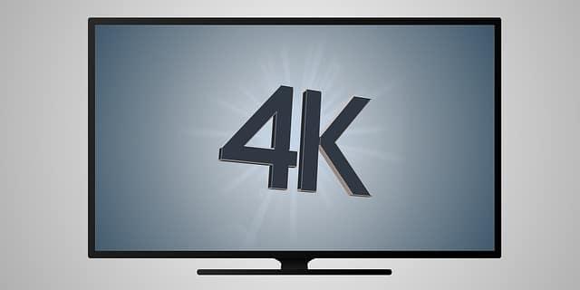 4k tv - agora