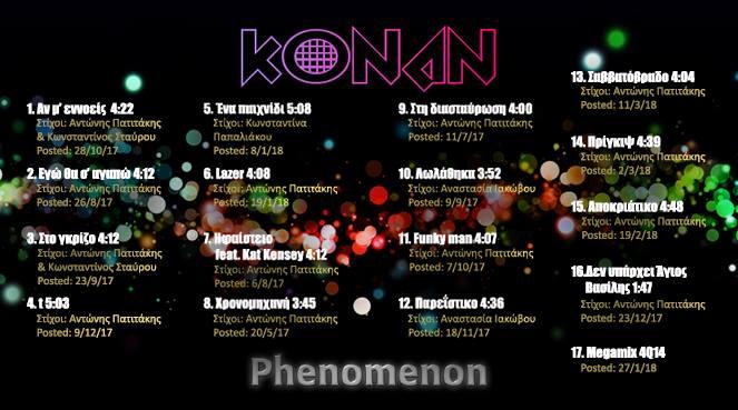 konan - kallitexnes - sinenteuksi - καλλιτεχνες - συνεντευξη - που να δημοσιεύσω τα τραγούδια μου